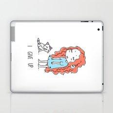 I Give Up Laptop & iPad Skin