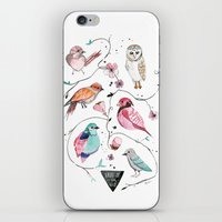 BIRDS OF THE WILD iPhone & iPod Skin
