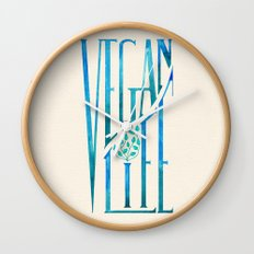 Vegan Life Wall Clock