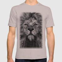King of Judah Mens Fitted Tee Cinder SMALL