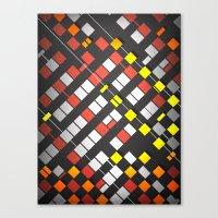 Breakout Pattern Canvas Print