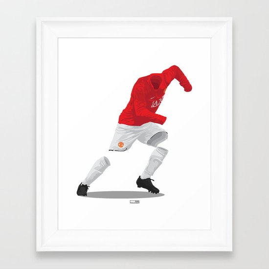 Manchester United 2007/08 - Champions League Winners Framed Art Print