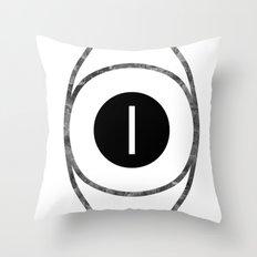 EYE of Line Throw Pillow