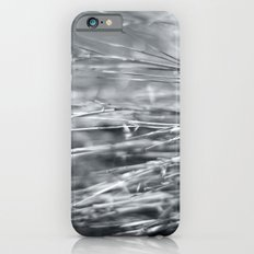 Fire Grass in Black and White Slim Case iPhone 6s