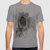 Inside My World Mens Fitted Tee Athletic Grey SMALL