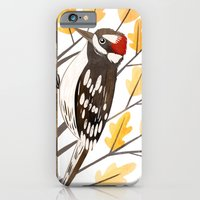 Downy Woodpecker iPhone 6 Slim Case