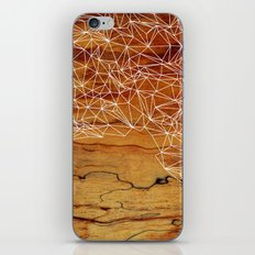 Wooden Wireframe iPhone & iPod Skin