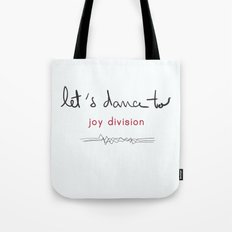 Let's dance to JD Tote Bag
