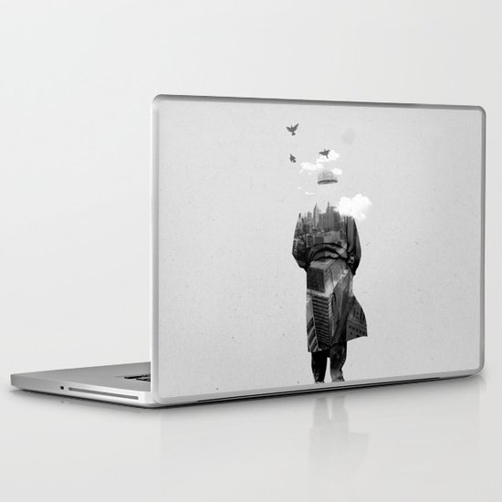Get away from town Laptop & iPad Skin