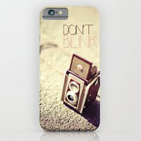 Don't Blink iPhone 6 Slim Case