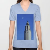 Spanish Tower Unisex V-Neck