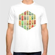 Car Park Mens Fitted Tee White SMALL