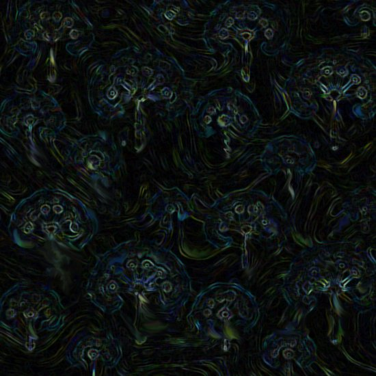 Faces in the Dark Art Print