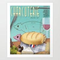Charcuterie Art Print