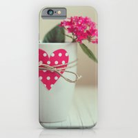 iPhone & iPod Case featuring Cup full of love by Xaomena
