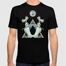 Crystalfilm Black SMALL Mens Fitted Tee