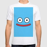 Dragon Quest's Slime Mens Fitted Tee Ash Grey SMALL