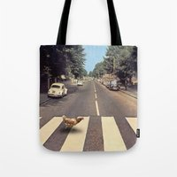 Why Did The Chicken Cros… Tote Bag