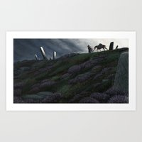 The Wayfarer Art Print
