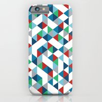 Triangles #3 iPhone 6 Slim Case