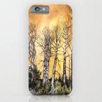 iPhone & iPod Case featuring Orange Glow  by Leanna Rosengren