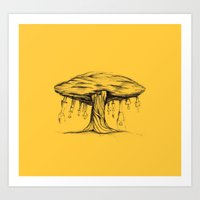 The tree of Immaturity Art Print