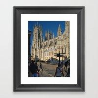 York Minster Framed Art Print