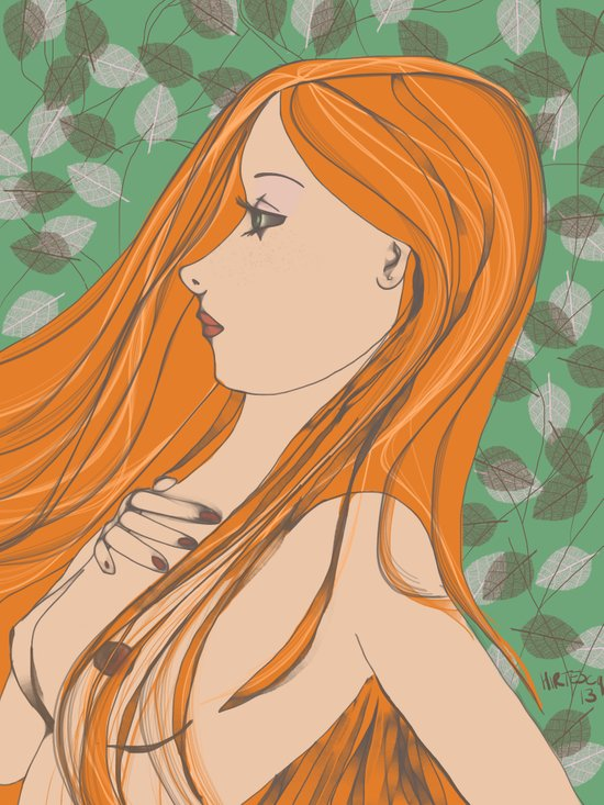 Eve (Saturday's Child) Art Print