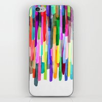 Colorful Stripes 4 iPhone & iPod Skin