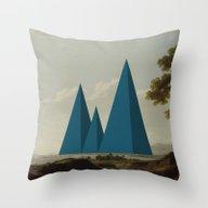 Landscape 21 Throw Pillow