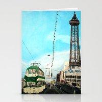 Blackpool Lancashire Eng… Stationery Cards