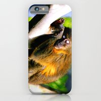 Monkey Sleeping iPhone 6 Slim Case