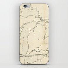 Railroad & The Northwestern States in 1850 iPhone & iPod Skin