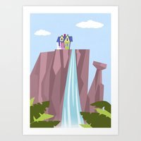 Pixar/Disney Up (Print 1… Art Print