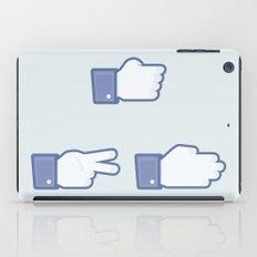 I Like Rock, Paper, Scissors iPad Case