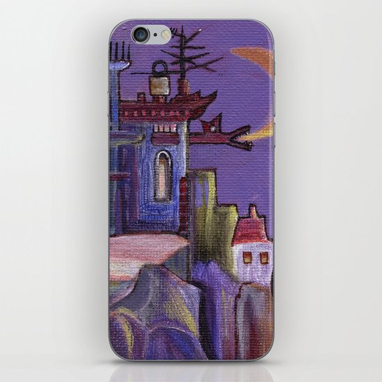walking out iPhone & iPod Skin