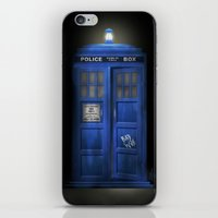 """Death – The Doctor�… iPhone & iPod Skin"