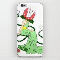 Piranha Plant Siren iPhone & iPod Skin
