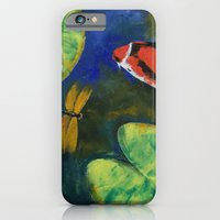 Showa Koi And Dragonfly iPhone 6 Slim Case