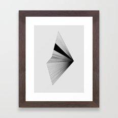 Half 2 Framed Art Print