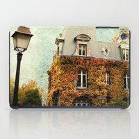 Autumnal Montmartre iPad Case
