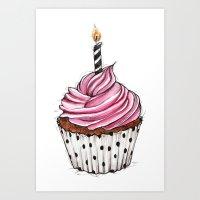 Cupcake 01 Art Print