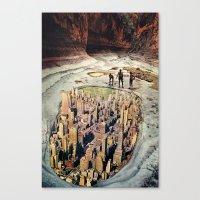 1000ft View Canvas Print