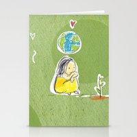 Seeds of Love Stationery Cards
