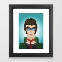 Liam Gallagher Oasis & Beady Eye Framed Art Print
