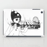 Pierrot the clown iPad Case