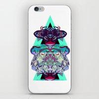 TIGER DREAMS iPhone & iPod Skin