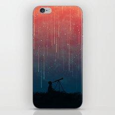 Meteor rain iPhone & iPod Skin