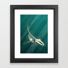 Underwater. Framed Art Print
