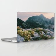 Mountain Flowers At Sunr… Laptop & iPad Skin